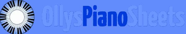 OllysPianoSheets.com Retina Logo