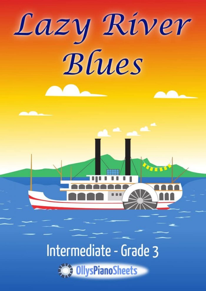 blues sheet music cover