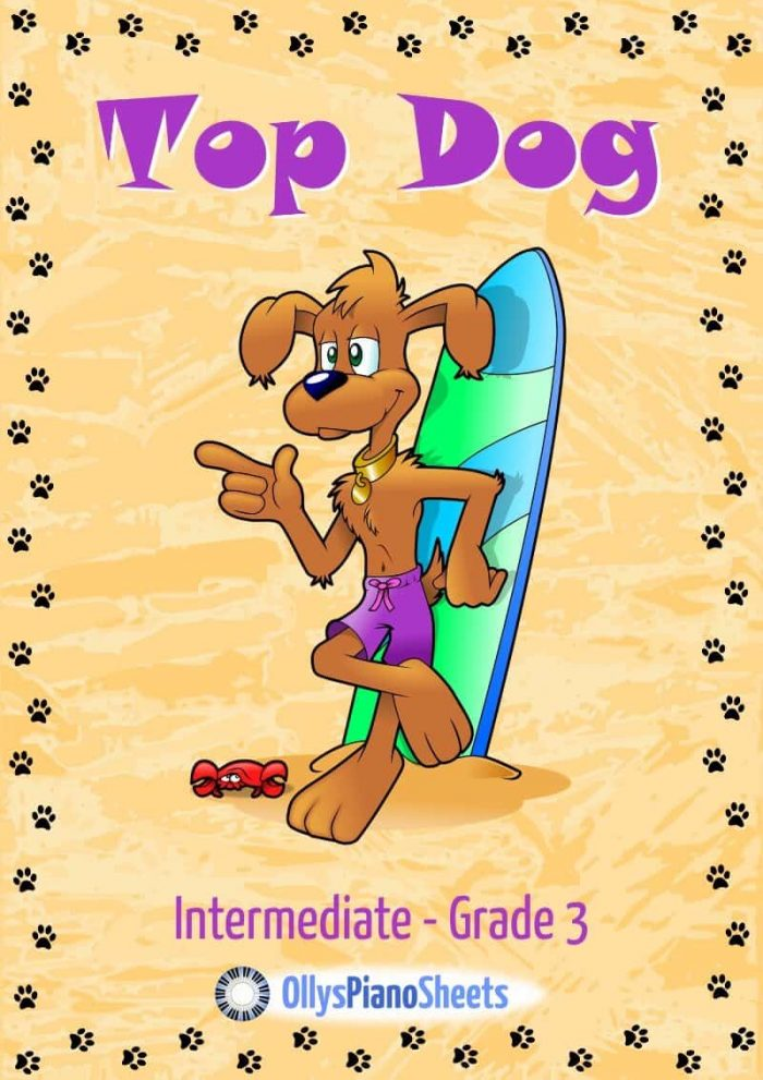 Top Dog piano sheet music cover