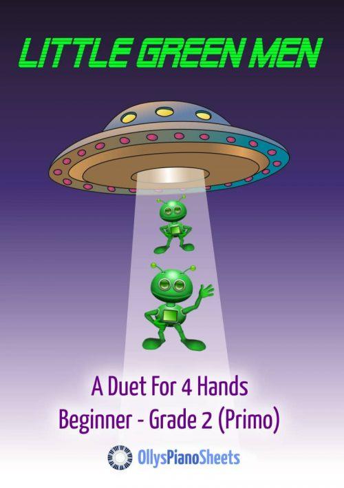 Little Green men - piano duet cover