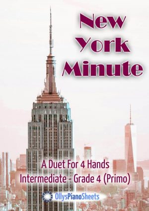 New York Minute - piano duet cover