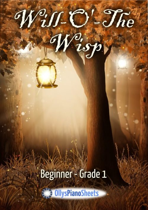 Will O' The Wisp - Piano Sheet Music by Olly Wedgwood
