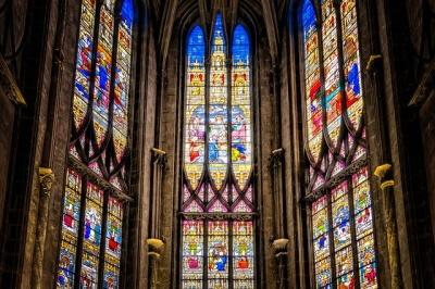 Medieval Gothic Church